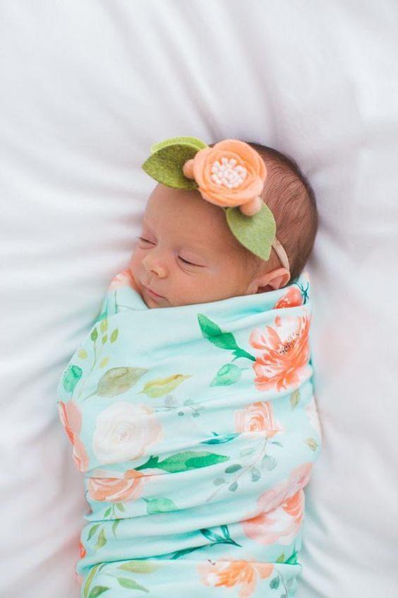 عکس نوزاد دختر بامزه مناسب پروفایل