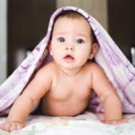 عکس نوزاد دختر زیرپتو