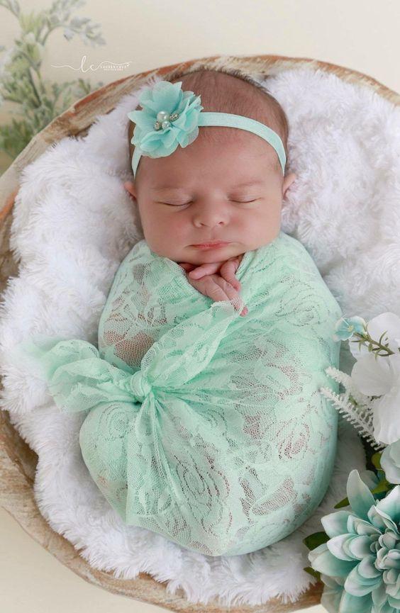 عکس نوزاد دختر خوشگل و قشنگ