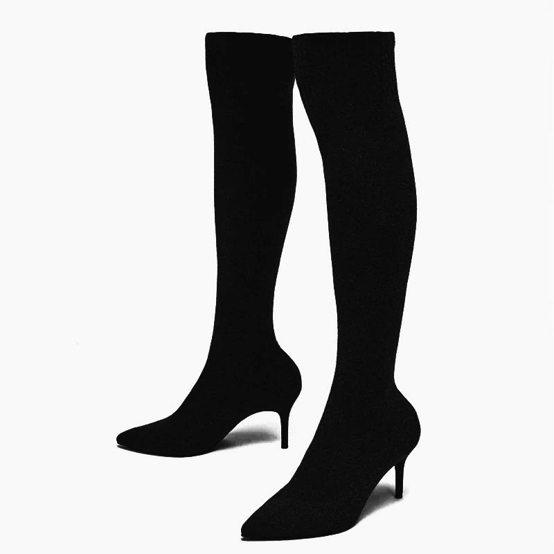مدل بوت جورابی جدید پاشنه میخی