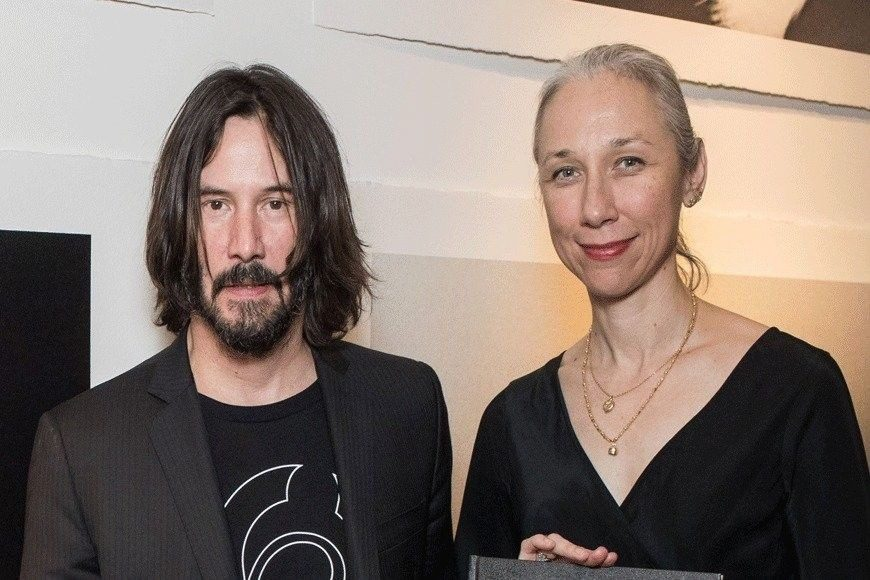 عکس کیانو ریوز و دوست دختر 46 ساله اش