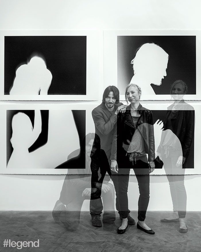 عکس کیانو ریوز و دوست دخترش