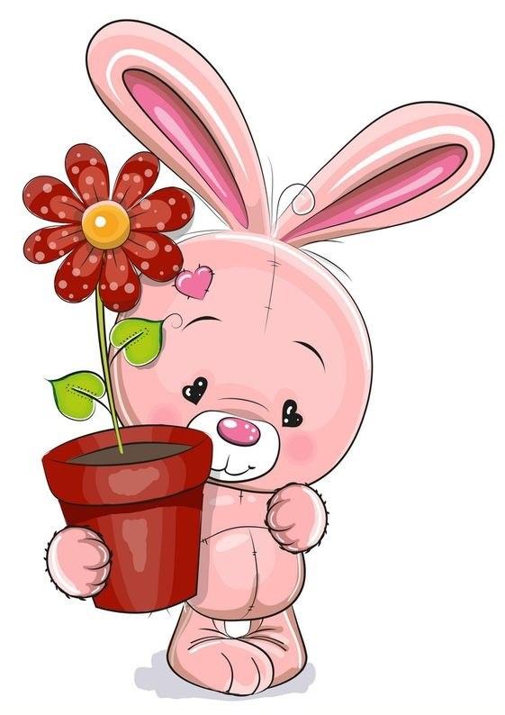 عکس خرگوش کارتونی برای پروفایل