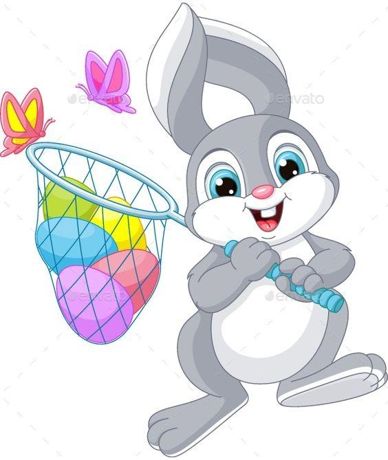 عکس کارتونی خرگوش کوچولو