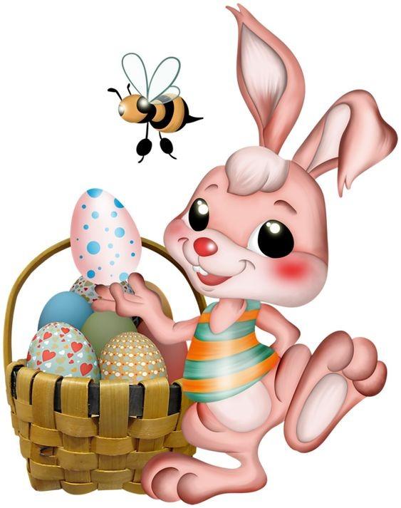 عکس خرگوش کارتونی بامزه
