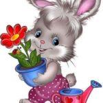 عکس از خرگوش کارتونی