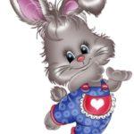 عکس خرگوش کارتونی بانمک