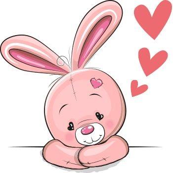عکس خرگوش کارتونی غمگین