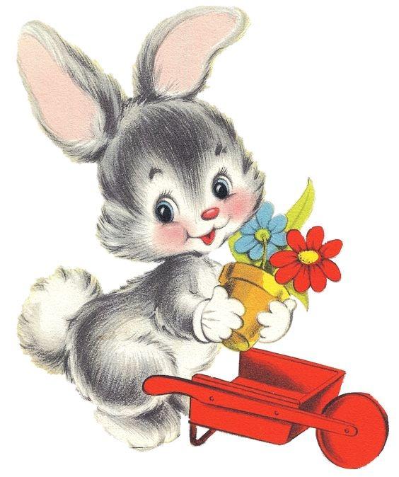 عکس خرگوش کارتونی ساده