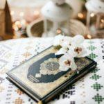 عکس قرآن و گل