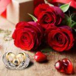 عکس قلب و گل با حلقه