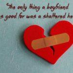 عکس قلب شکسته چسب خورده