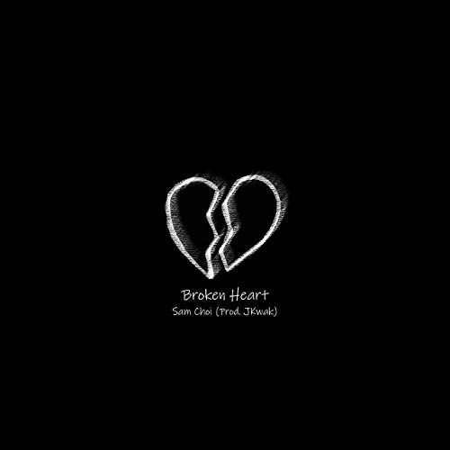 عکس قلب شکسته سیاه و مشکی