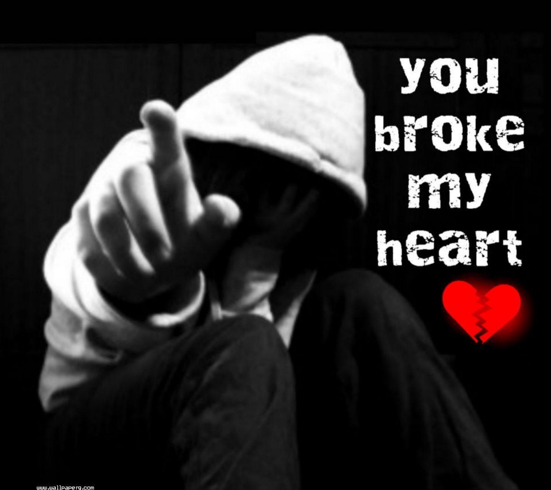 عکس قلب شکسته پسرونه