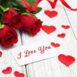 عکس قلب و گل دوستت دارم