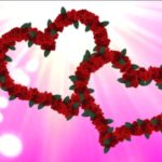 عکس قلب و گل صورتی