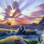 نقاشی فانتزی حرفه ای طبیعت