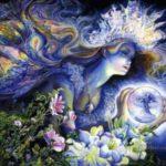 نقاشی فانتزی زیبا و حرفه ای