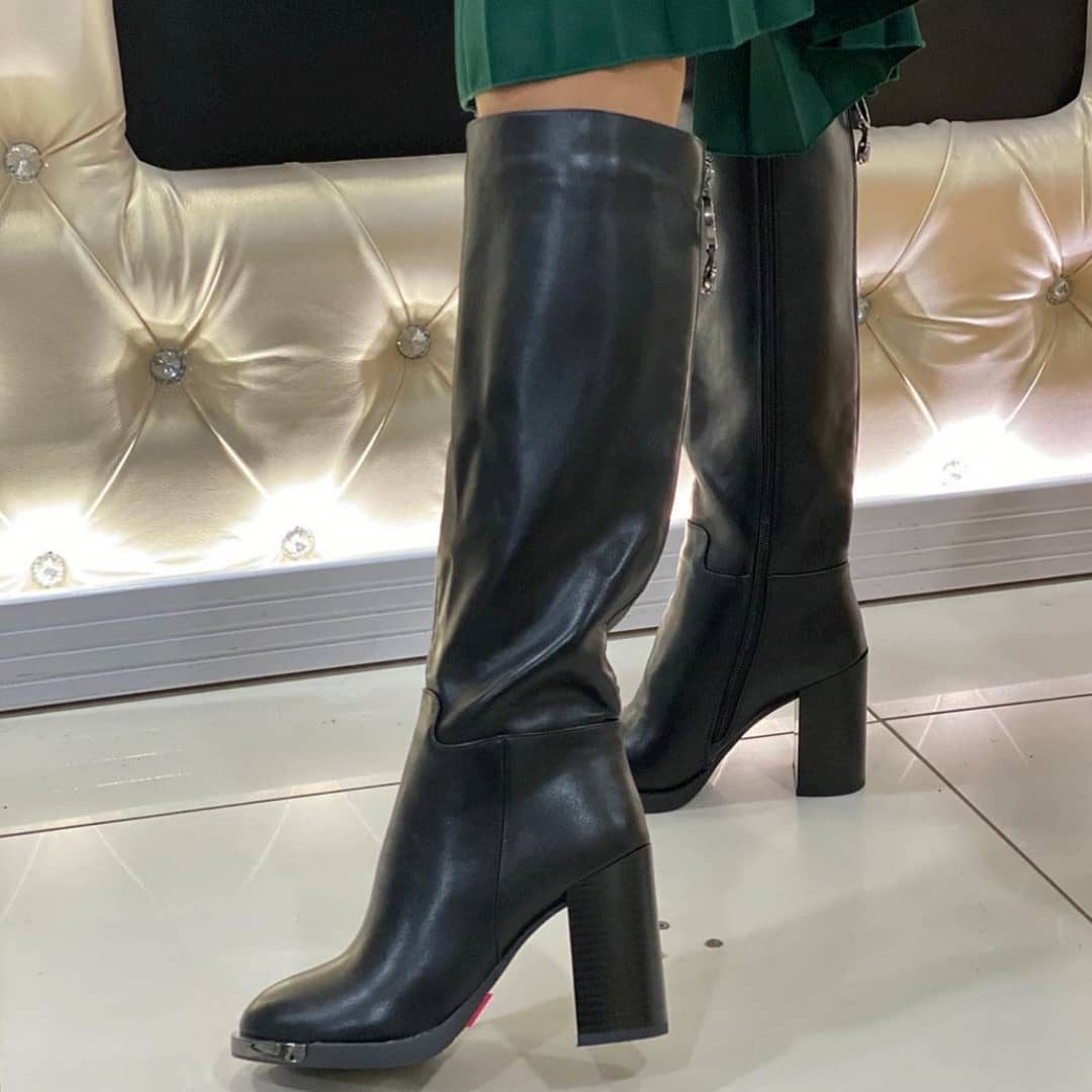 مدل بوت های دخترانه 2019 ساق بلند