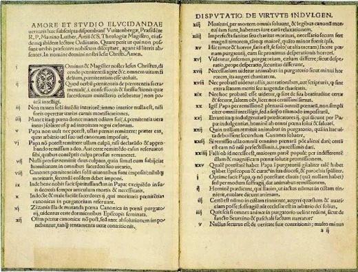 10 واقعه مهم تاریخ جهان : اصلاحات اروپا (رساله مارتین لودر)
