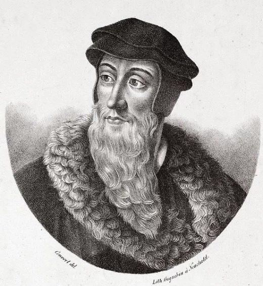 10 وقایع مهم تاریخ جهان : اصلاحات اروپا (جان کلوین)