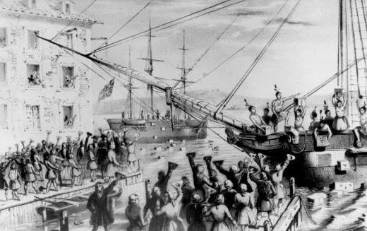 مهمترین وقایع تاریخ جهان : انقلاب آمریکایی