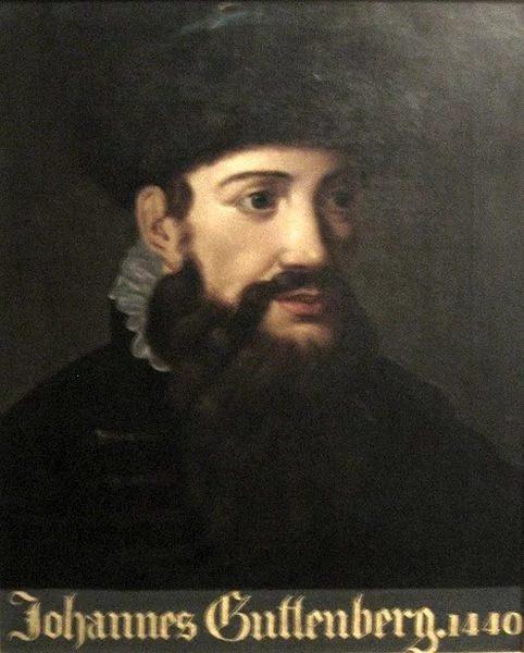 جانسون گوتنبرگ (Johannes Gutenberg)