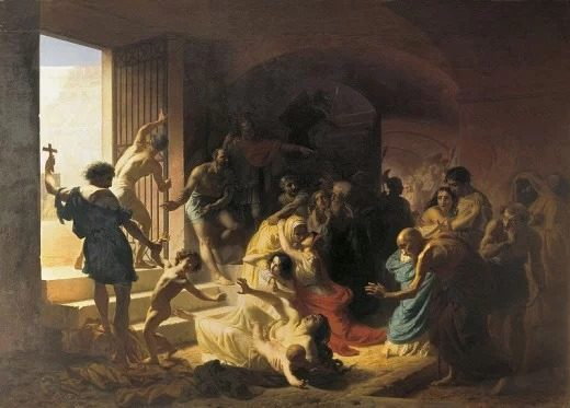 10 واقعه مهم در تاریخ : شهدای مسیحی در رومی کولیز