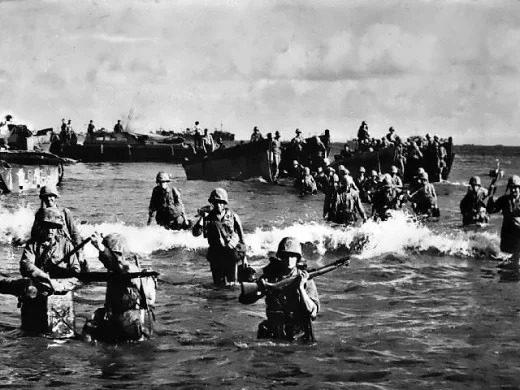 تصویری از سربازان جنگ جهانی دوم
