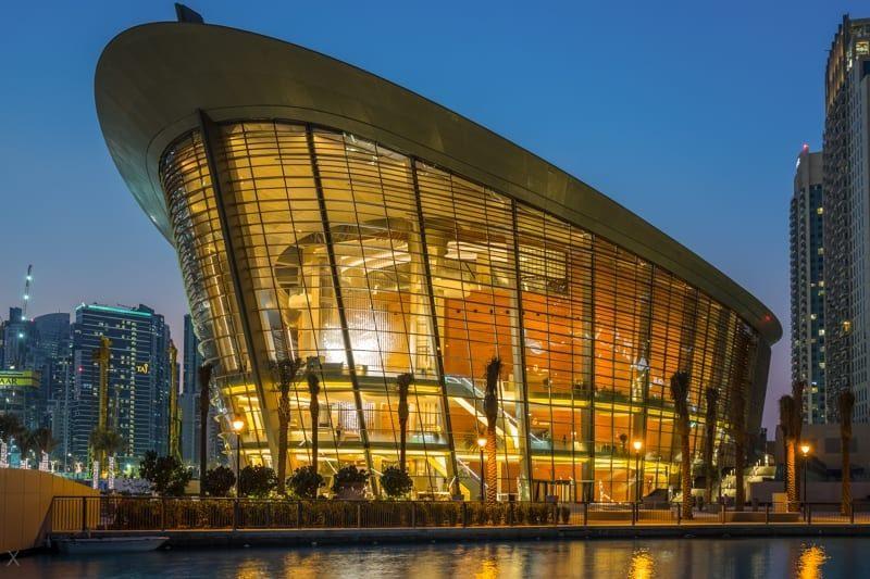 بهترین مکان های دیدنی دبی: اپرای دبی
