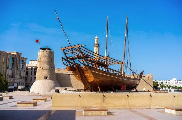 بهترین مکان های دیدنی دبی: موزه دبی