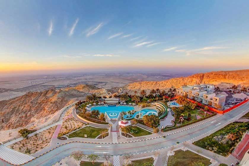 عکس معروف ترین مناطق توریستی معروف دبی: واحهی العین دبی