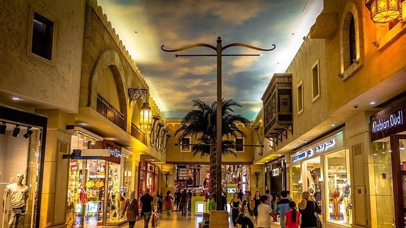 بهترین مکان های دیدنی دبی: بازار ابن بطوطه