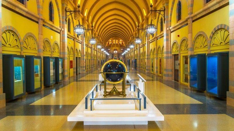 مناطق توریستی معروف دبی: موزه تمدن اسلامی شارجه