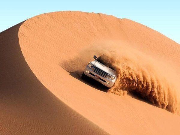 بهترین مکان های دیدنی دبی: سافاری دبی