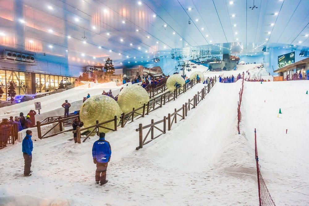 بهترین جاذبه های توریستی دبی: پیست اسکی دبی