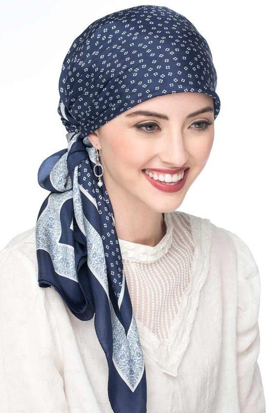 آموزش انواع مدل های بستن سال و روسری