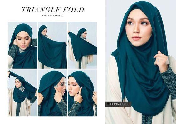 آموزش مدل های مختلف بستن شال و روسری
