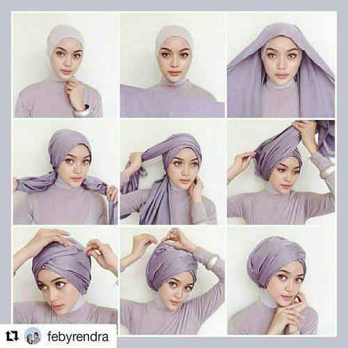 اموزش جدیدترین مدل های بستن شال و روسری