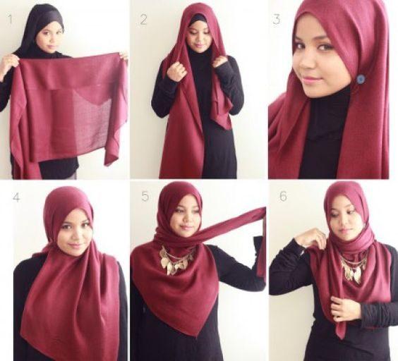 آموزش مدل های جدید بستن شال و روسری