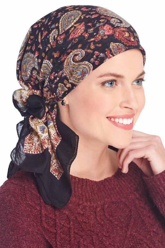 آموزش مدل های بستن شال و روسری جدید