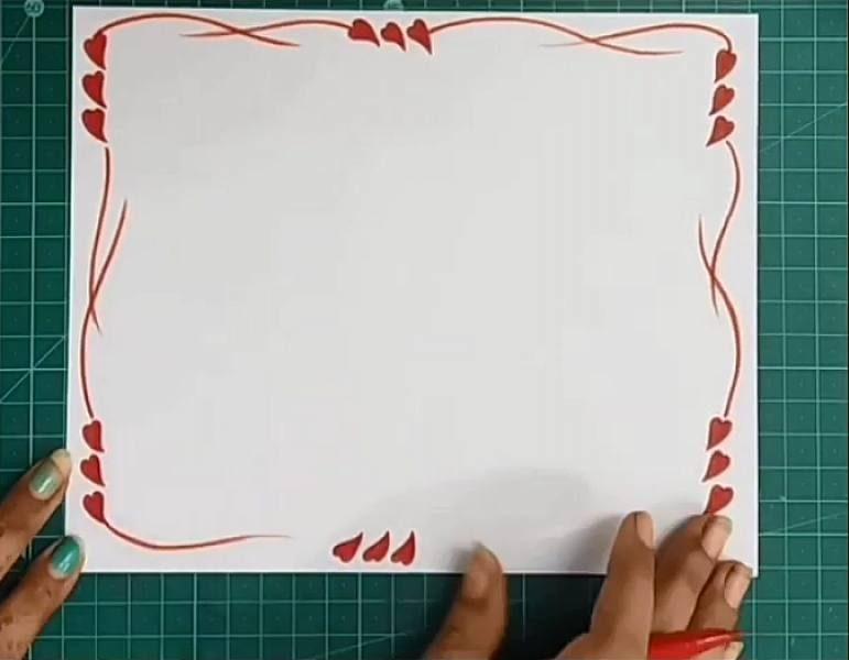 آموزش نقاشی برای حاشیه دفتر