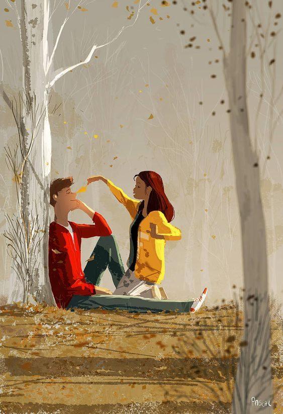 عکس فانتزی عاشقانه دو نفره