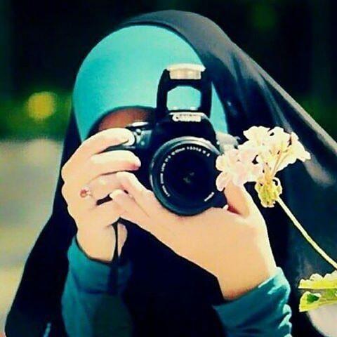 عکس فانتزی دختر با چادر