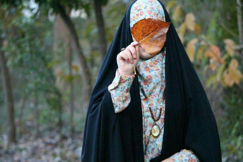 عکس دختر با چادر برای پروفایل فانتزی