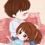 عکس انیمیشن عاشقانه برای پروفایل