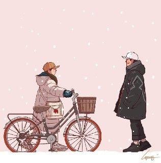 متن ادبی درباره برف و زمستان