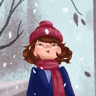 متن ادبی در مورد یک صبح برفی و زمستانی