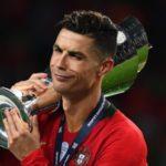 بک گراند کریستیانو رونالدو با جام