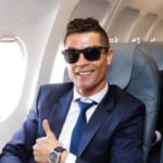 عکس پس زمینه کریس رونالدو در هواپیما